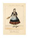 Mlle Emilie Duboise as Maddalena in Verdi's Rigoletto Giclee Print by Thomas Hailes Lacy