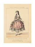 Marie Cabel, Belgian Soprano Singer, as Manon Lescaut, 1856 Giclee Print by Thomas Hailes Lacy