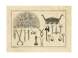 Anglo Saxon Banquet and Tools Giclee Print by Robert von Spalart