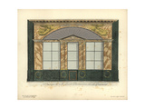 Shopfront to Lescot's Pharmacy, Paris, 1800 Giclee Print by Hector-Martin Lefuel