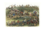 Triumphal March of the Elf King Giclee Print by Richard Doyle