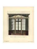 Shopfront of Malezieux's Wallpaper Shop, Paris, Circa 1800 Giclee Print by Hector-Martin Lefuel