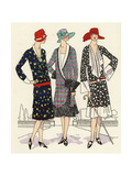 Women in Afternoon Dresses from 1926 Giclee Print