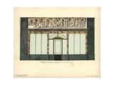 Shopfront to Teissier's Perfumery, Paris, Circa 1800 Giclee Print by Hector-Martin Lefuel