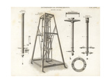 Zenith Sector Telescopes Giclee Print by J. Farey