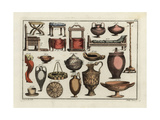Greek and Roman Household Items Giclee Print by Robert von Spalart