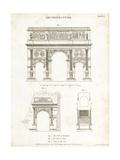 Wilson Lowry - Roman Arches - Giclee Baskı