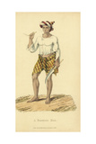Burmese Man with Cheroot (Cigar) Giclee Print