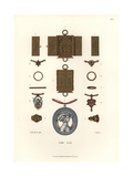 Jewelry and Amulets, Early 16th Century Giclee Print by Jakob Heinrich Hefner-Alteneck