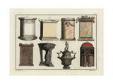 Greek Altars, Tripod, Urn and Tomb Giclee Print by Robert von Spalart
