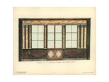 Shopfront of Taillebosq's Fabric Store, Paris, Circa 1800 Giclee Print by Hector-Martin Lefuel