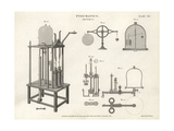 Pneumatics of Air Pumps Giclee Print by Wilson Lowry