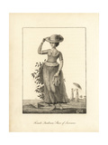Female Quadroon Slave of Surinam Giclee Print by John Gabriel Stedman