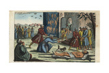 Ancient Parsee or Zoroastrian Funeral Giclee Print