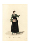 Itinerant Haberdasher, Paris, Early 19th Century Giclee Print by Louis-Marie Lante