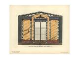 Shopfront of Cafe Tesse, 1 Quai Voltaire, Paris, Circa 1800 Giclee Print by Hector-Martin Lefuel