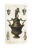 Roman Cinerary Urns Giclee Print