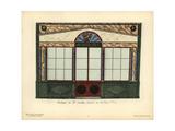 Shopfront of Gaultier's Goldsmith, Paris, Circa 1800 Giclee Print by Hector-Martin Lefuel