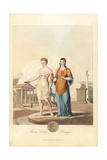 Roman British Priestesses Giclee Print by Charles Hamilton Smith
