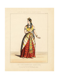 Costume of an Ancient Egyptian Princess, 19th Century Giclee Print by Thomas Hailes Lacy