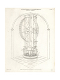 Ramsden's Circle, an Astronomical Instrument Giclee Print by J. Farey