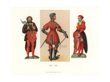 German Male Costumes of 1526-1546 Giclee Print by Jakob Heinrich Hefner-Alteneck