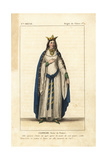 Clotilde, Queen of the Franks, 475-543 Giclee Print by Leopold Massard