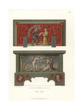 Wooden Jewelry Box from the Early 16th Century Giclee Print by Jakob Heinrich Hefner-Alteneck