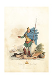 Costume of a Pagan Saxon Chief Giclee Print by Charles Hamilton Smith