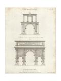 Roman Arches Impression giclée par Wilson Lowry
