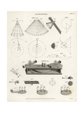 Whirling Table to Demonstrate Centrifugal Force Giclee Print by Wilson Lowry