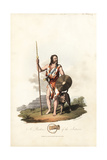 A Briton from the Pre-Roman Era Giclee Print by Charles Hamilton Smith
