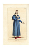 Jean Le Bon, John II, King of France, 1319-1364 Giclee Print by Leopold Massard