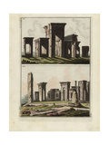 Persepolis, Capital of Achaemenid Persia Giclee Print by Robert von Spalart