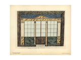 Shopfront of a Lottery Office, Paris, Circa 1800 Giclee Print by Hector-Martin Lefuel