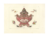 Vase in the Pot-Pourri Style 1757 Giclee Print by Edouard Garnier