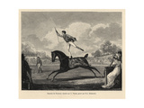 Antonio Franconi, the Equestrian Acrobat, 1800 Giclee Print by Carle Vernet