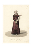 Laundry Mistress, Paris, Early 19th Century Giclee Print by Louis-Marie Lante
