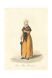 Petite Bourgeoise Woman of Paris, Early 19th Century Giclee Print by Louis-Marie Lante