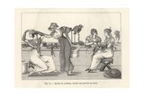 Milliners' Workshop in Paris, Circa 1800 Giclee Print by Jean-Francois Bosio