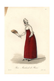 Biscuit or Cookie Seller, Paris, Early 19th Century Giclee Print by Louis-Marie Lante