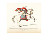Military Costume of a Crusader, 13th Century Giclee Print by Paul Mercuri