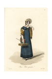 Student Painter, Paris, Early 19th Century Giclee Print by Louis-Marie Lante