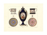 Porcelain from the French Revolutionary Era Giclee Print by Edouard Garnier