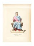 Charles of Anjou, Charles I of Naples, 1226-1285 Giclee Print by Paul Mercuri