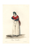 Oyster Shucker of Paris, Early 19th Century Giclee Print by Louis-Marie Lante