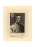 Chevalier Estienne, French Ambassador Giclee Print
