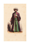Turkish Iman in Turban and Long Robes Giclee Print