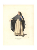 Munio of Zamora, Dominican Monk, 13th Century Giclee Print by Paul Mercuri