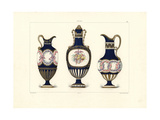 Fonds Partiels (Partial Background) Vases Giclee Print by Edouard Garnier